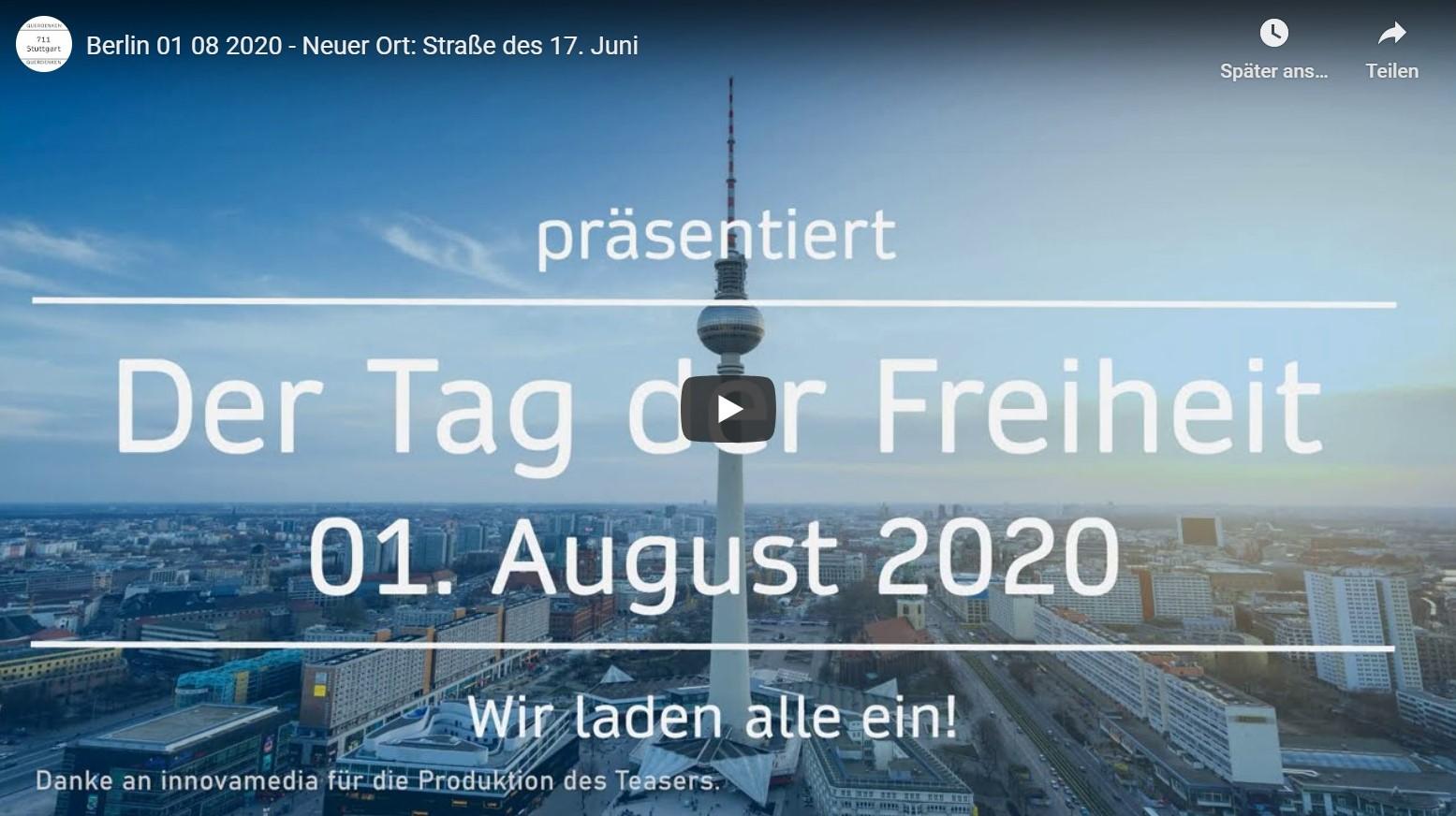 Berlin Tag der Freiheit