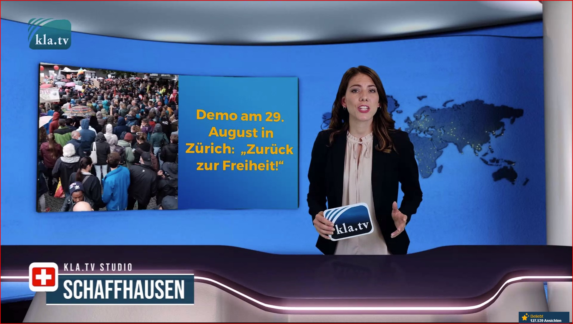 Kla.TV Demo 29.08.2020 Zürich